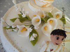 La buona cucina di Katty: Torta prima comunione di Luca - First communion cake