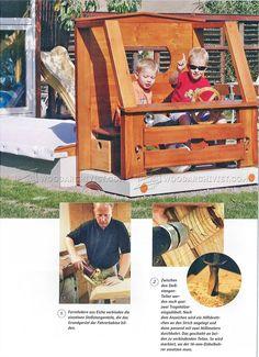 Car Sandbox Plans - Children's Outdoor Plans