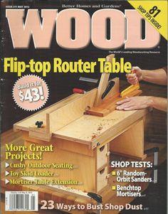 Better Home Gardens Wood Magazine Sept 2004 Entertainment Center 157 MINT