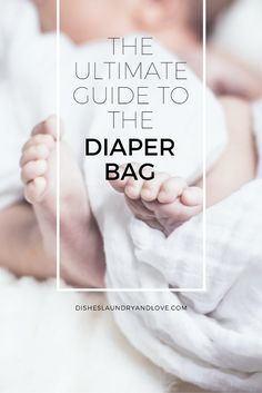 The Ultimate Guide to the Diaper Bag--As a new mom it can be overwhelming to take care of a newborn. This post answers questions about the need for a diaper bag, what kind of diaper bag to buy, and what to put into the diaper bag. This post is for new moms and mommy-to-be. Check out why the diaper bag is a must have baby gear item.