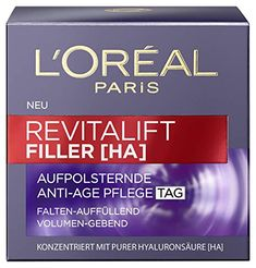 L'Oreal Paris Gesichtscreme Anti Age Revitalift Filler, 50 ml Reading Online, Books Online, Bio Spirulina, Anti Ride, L'oréal Paris, Skin Cream, Loreal, Best Sellers, Self Love