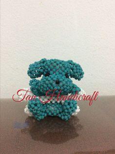MGB seed bead, 55 gr, 6 cm, beaded doggy