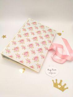 Album Photo Scrapbooking, Pink Themes, Motif Floral, Creations, Etsy, Paper, Handmade, Gifts, Amigurumi
