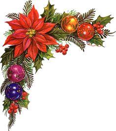 20 Water Slide Nail Art Decals Christmas Ornament Corner Tip Christmas Frames, Christmas Flowers, Noel Christmas, Christmas And New Year, Vintage Christmas, Christmas Wreaths, Christmas Decorations, Christmas Ornaments, Christmas Clipart