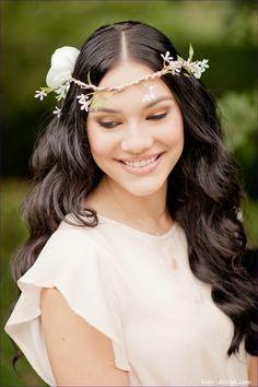 Haarkrone Haarband Boho in Love von kido-design auf DaWanda.com