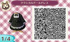 Lolita part 3 Based on real lolita... / Animal Crossing QR Code blog