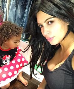 North West Lets Curls Loose, Wears Minnie Mouse Dress at 6 A.M. - Us Weekly