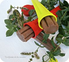 Chocolate and mint popsicle (recipe in spannish)  La Cocina de los inventos: Polos de Chocolate y Menta