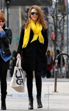 nice-i just got a yellow scarf, love it