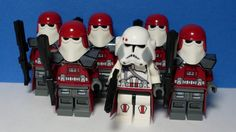 Lego: Star Wars - Commander Bacara and Five Galactcic Marine