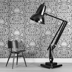 Anglepoise Giant 1227 floor lamp from George Carwardine. The Giant 1227 was originally commissioned for the Roald Dahl Museum and Story Centre to be part of an oversized set of his writing den: it is three times the size of the Original 1227 from Cool Lighting, Anglepoise, Anglepoise Lamp, Oversized Floor Lamp, Flooring, Giant Floor Lamp, Lamp, Interior Inspiration, Modern Lighting Design