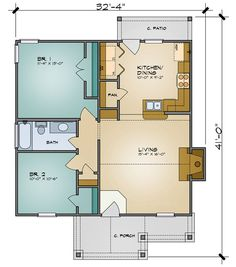 Plan 36901JG: Guest Cottage Or First Home