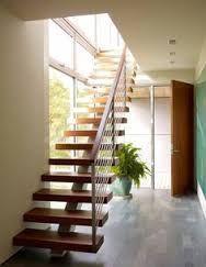 Resultado de imagen de escaleras modernas para casas grandes