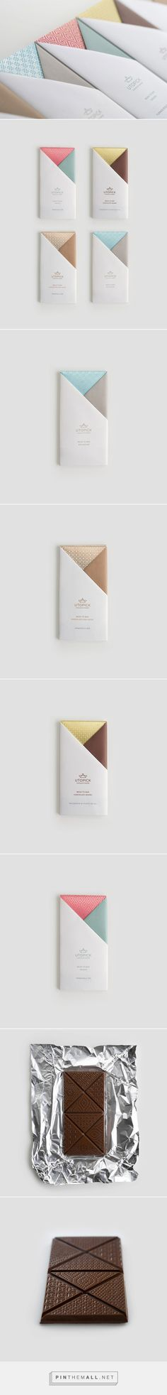 Utopick Chocolates Branding by Lavernia & Cienfuegos | Inspiration Grid | Design Inspiration - created via https://pinthemall.net