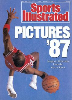Michael Jordan in Sports Illustrated, 1987