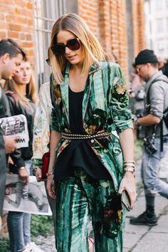 The Olivia Palermo Lookbook : Olivia Palermo At Milan Fashion Week