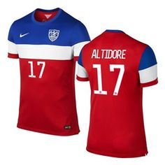 SoccerFans.com - Product :: Nike USA Altidore #17 World Cup 2014 ...