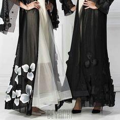 Niqab Fashion, Modest Fashion, Fashion Dresses, Ski Fashion, Iranian Women Fashion, Womens Fashion, Hijab Abaya, Hijab Style, Abaya Designs