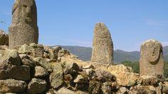 Le site archéologique de Filitosa, à Sollacaro. La Corse compte plus de dolmens et de menhirs que toute autre région d'Europe.