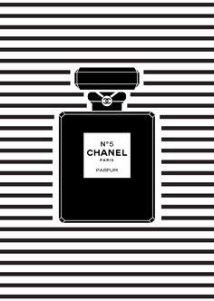 posters-para-imprimir-perfume-chanel-preto-e-branco