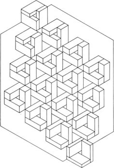 optical illusion coloring pages - Google Search