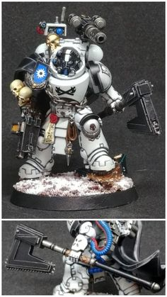 Timur the Headsman, Master of the Star Phantoms Company : Warhammer 40k Figures, Warhammer Paint, Warhammer Models, Warhammer 40k Miniatures, Warhammer 40000, Miniaturas Warhammer 40k, Marine Colors, Imperial Fist, 3d Figures