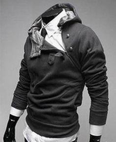Sudadera Desmond Miles, con capucha. Assassin's Creed Espectacular sudadera en manga larga como la que lleva Desmond en Assassin's Creed.