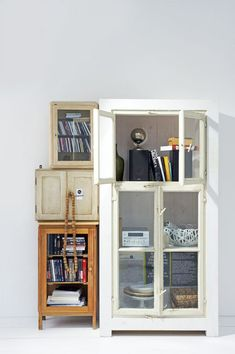 various cabinet storage / sfgirlbybay