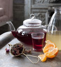 Bellocq's Hibiscus-Ginger Tea Warmer - DesignSponge.com | BELLOCQ