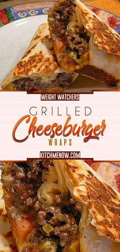 Ham and sesame rolls - Clean Eating Snacks Cheeseburger Wraps, Weight Watcher Wraps, Weight Watcher Dinners, Weight Watcher Breakfast, Weight Watcher Recipes, Grilling Recipes, Beef Recipes, Cooking Recipes, Healthy Recipes