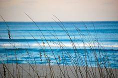 Beautiful blue seascape.