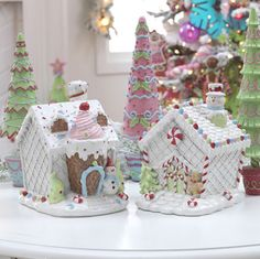 RAZ Christmas at Shelley B Home and Holiday: Iced Gingerbread Candy House