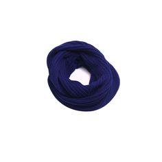Cachecol Infinito Azul Bic #cachecol #cachecóis #scarfs #scarf #fashion #modafeminina #moda