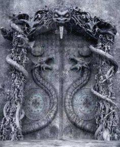 jawsomejaba:   Door at Padmanabha Swamy Temple,... - ༦࿈ .༗