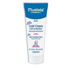 Mustela Cold Cream , creme protector e ultra-hidratante. Nutre, protege e alivia intensamente a pele do seu bebé.