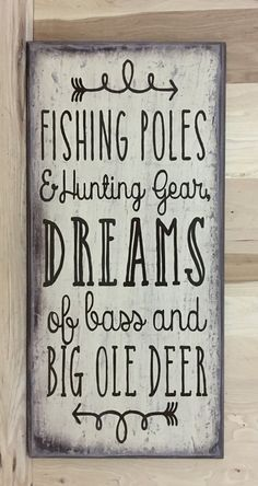 Fishing decor fishing wood sign Hunting decor Fathers Day gift gift for husband cabin wall decor gift for him custom wood sign DIY Wood Signs Cabin Custom Day Decor Fathers Fishing Gift Hunting HUSBAND Sign Wall Wood Pallet Art, Pallet Signs, Diy Pallet, Outdoor Pallet, Outdoor Fire, Pallet Ideas, Dollar Store Hacks, Custom Wood Signs, Wooden Signs