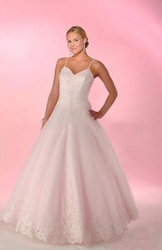 Unusual #Pink Floor-length Ball Gown Sleeveless #WeddingGown $139