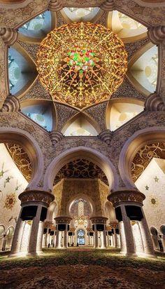 Sheikh Zayed Grand Mosque Abu Dhabi, UAE