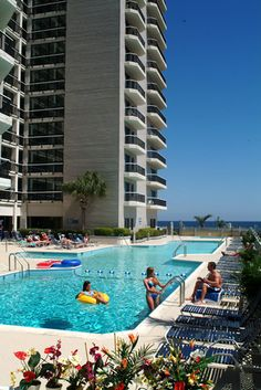Carolina Winds is located on the oceanfront in one of the most desirable areas of Myrtle Beach
