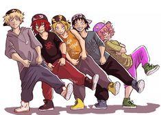 one-of-the-boys mina 💕 My Hero Academia // BNHA // Katsuki Bakugo // Kacchan // Eijiro Kirishima // Denki Kaminari // Hanta Sero // Mina Ashido.i love thiscomic Boku No Hero Academia, My Hero Academia Memes, Hero Academia Characters, My Hero Academia Manga, Anime Characters, Kirishima Eijirou, Comic Anime, Manga Anime, Bakugou And Uraraka