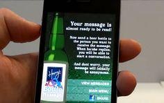 QR Code Beer - Como ligar con un CODIGO QR y 2 cervezas;-) ingenios de las nuevas tecnologías:))