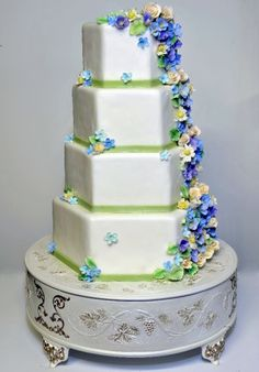 Susan Gambelli Custom Cakes www.susangambellicakes.com - Wedding