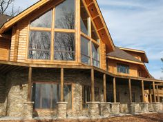 Eldorado Bluffstone - La Plata Taylor Stone, Facade, Cabin, House Styles, Home Decor, Silver, Decoration Home, Room Decor, Cabins