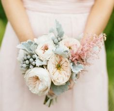 Love this size, colour, texture for the bridesmaids