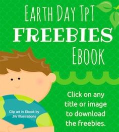 If you're looking for some freebies to celebrate Earth day in your classroom, be sure to download this eBook! I've compiled 11 freebies from fabulous TpT authors in an easy-to-peruse and download format.You can find lots more freebies at the FlapJack Earth Day TpT Freebies Linky Party.