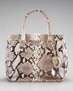 Python Frame Bag by Prada at Bergdorf Goodman.