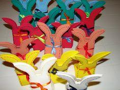 Atelier de Arte e Artesanato Katy Kanguru: Caixinhas de Pascoa em EVA