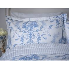 Toile cotton bedlinen i love this bedding toile for Space fabric dunelm