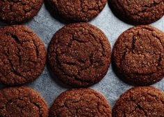 Molasses keeps these cookies magically fresh and chewy for days. I used all spice in place of cinnamon- yummy cookies. Cookie Desserts, Just Desserts, Cookie Recipes, Dessert Recipes, Gourmet Cookies, Galletas Cookies, No Bake Cookies, Anisette Cookies, Lace Cookies