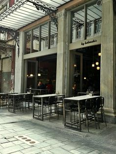 Cafe in Athens, Greece